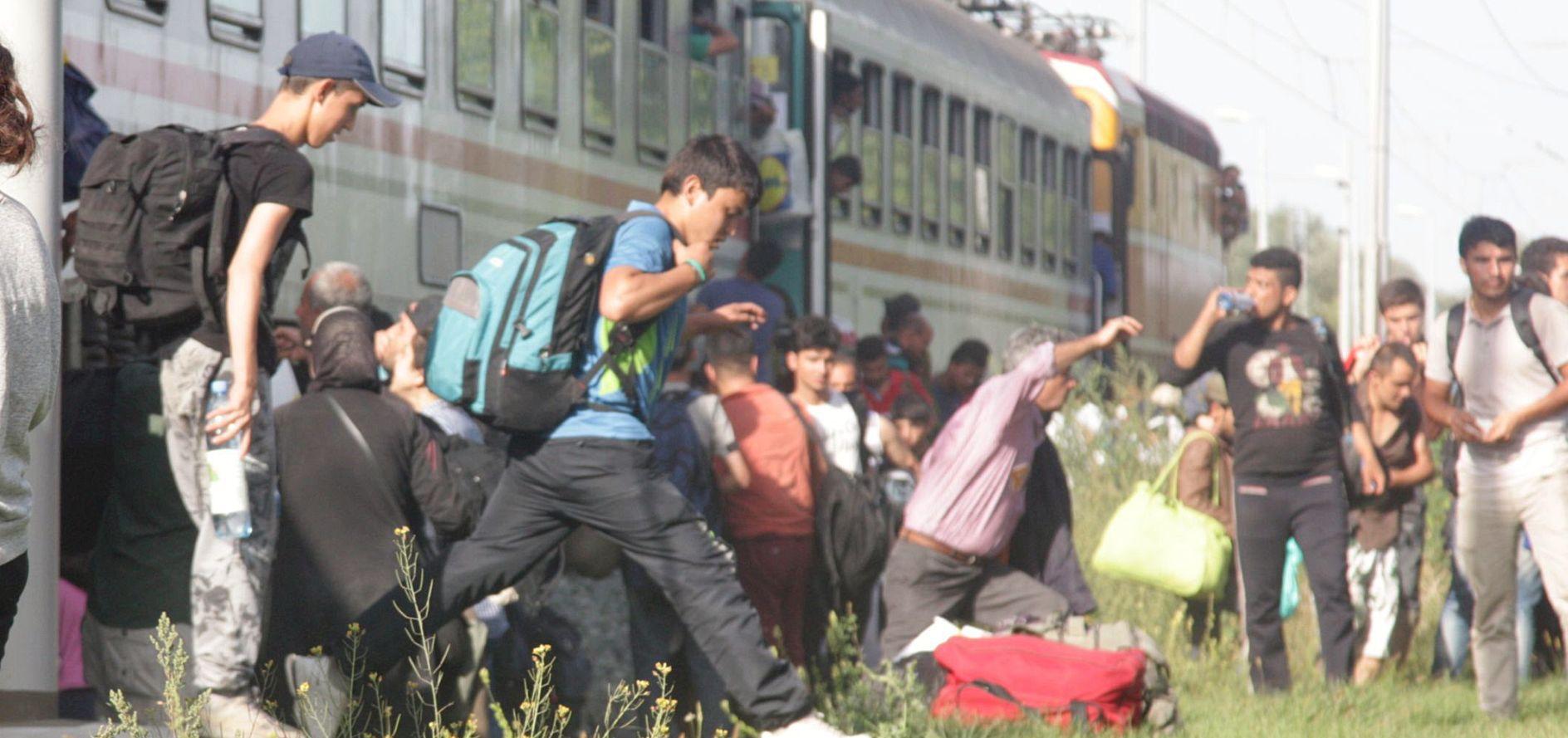 PODRAVSKA RUTA Izbjeglice vlakom do Botova pa ilegalno u Mađarsku