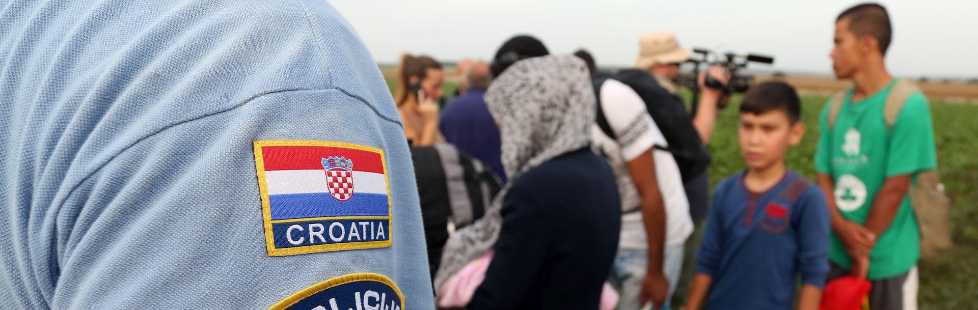 IZBJEGLICE U Hrvatsku do 19 sati ušla 892 migranta