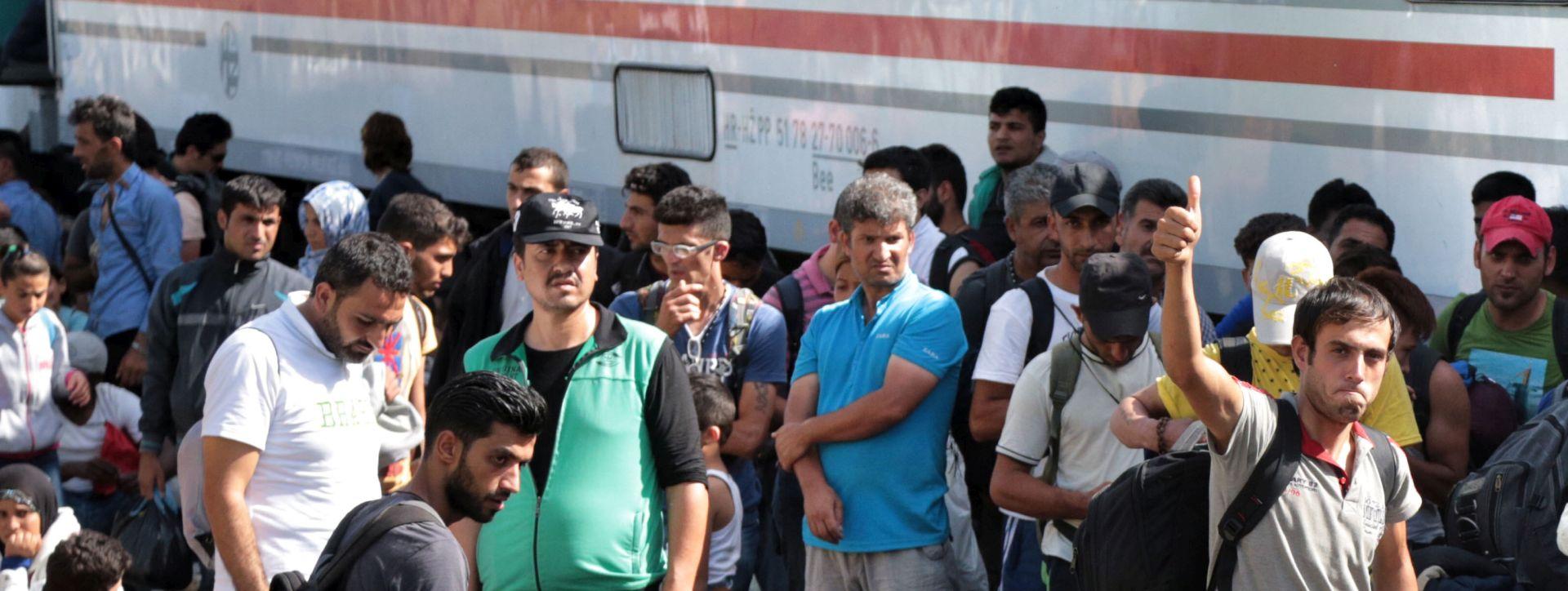 NE POVEĆAVA SE BROJ KAZNENIH DJELA Do 15 sati u Hrvatsku ušlo 15.400 migranata