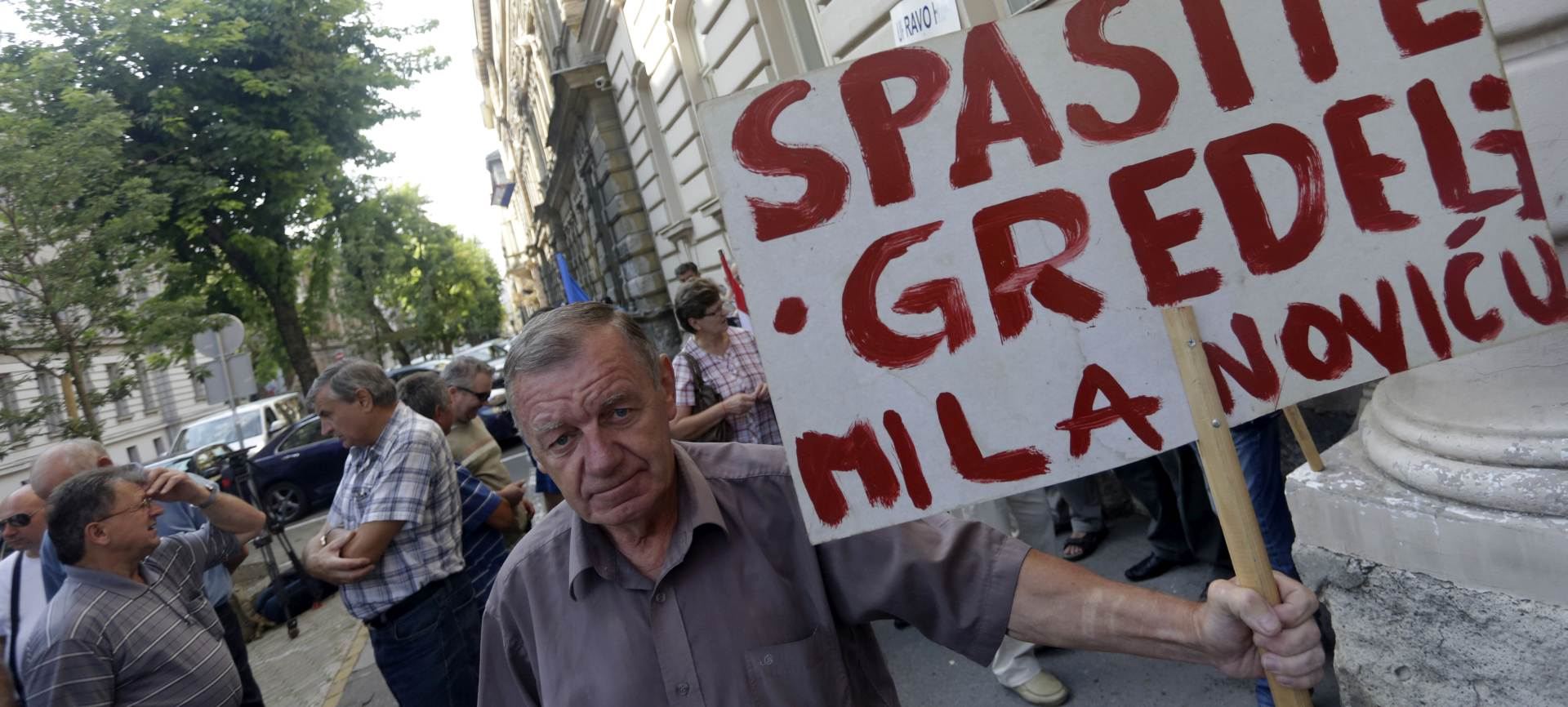 OČEKUJU OTPREMNINE: Bivši radnici Gredelja prosvjedovali pred DORH-om i Uskokom