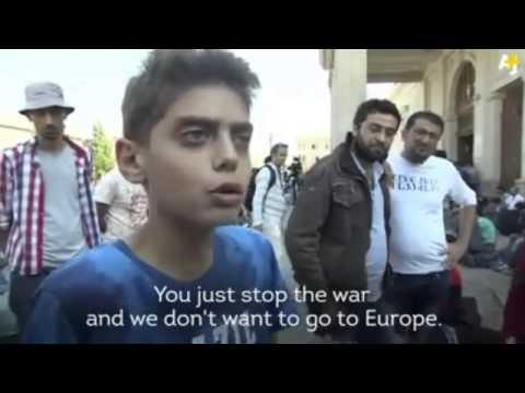 VIDEO: TRINAESTOGODIŠNJI SIRIJAC SVE OBJASNIO Ne želimo ostati u Europi, samo zaustavite rat u Siriji