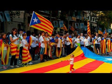 VIDEO: Stotine tisuća Katalonaca na ulicama Barcelone za neovisnost