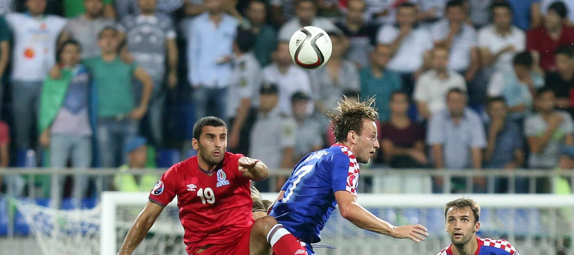Azerbajdžan – Hrvatska 0-0:  Neprecizna Hrvatska nije uspjela svladati Azerbajdžan