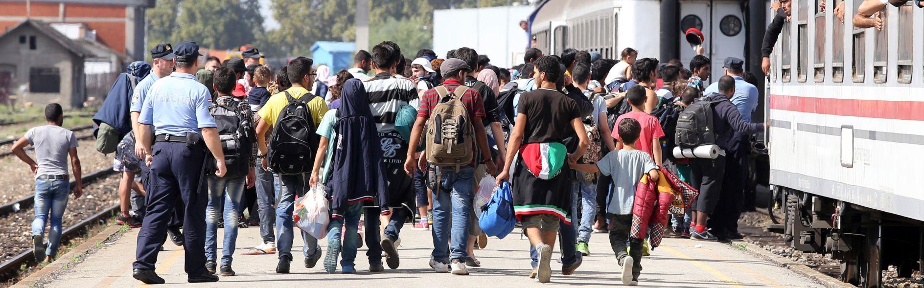 GUŽVA Na Bajakovu kilometarske kolone teretnjaka, izbjeglice pješače