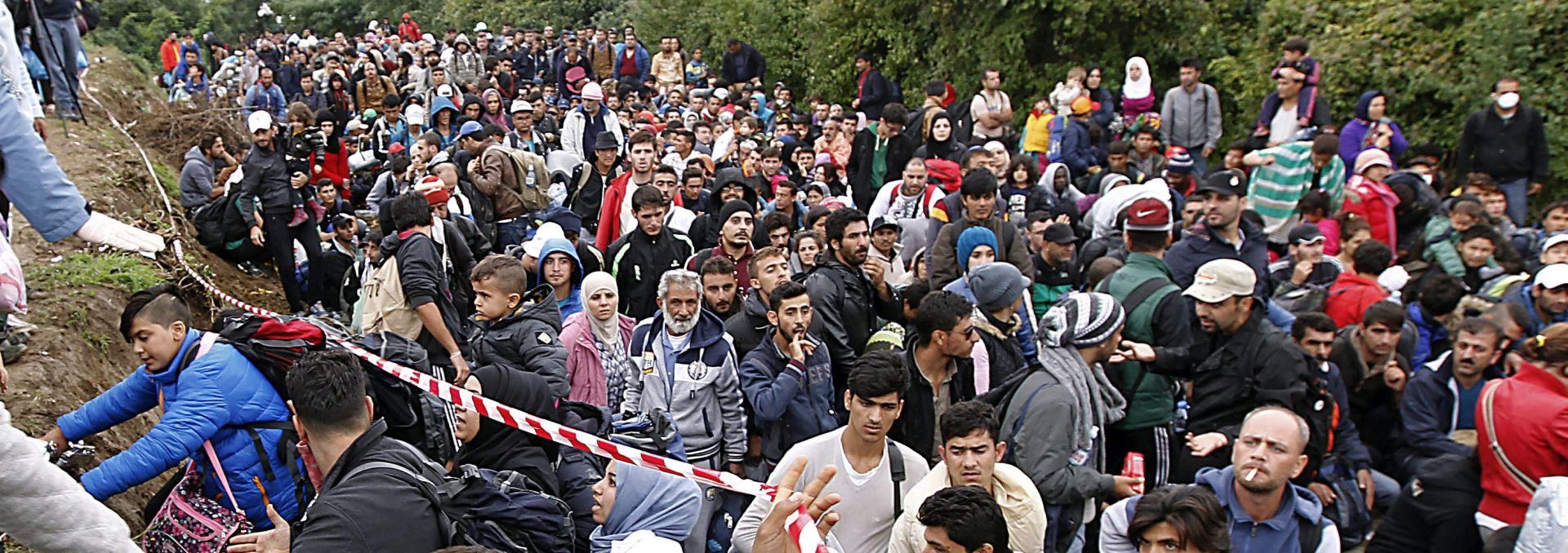 'CIJELI JEDAN ZAGREB' U prvih 9 mjeseci 2015. u EU ušlo 710 tisuća migranata