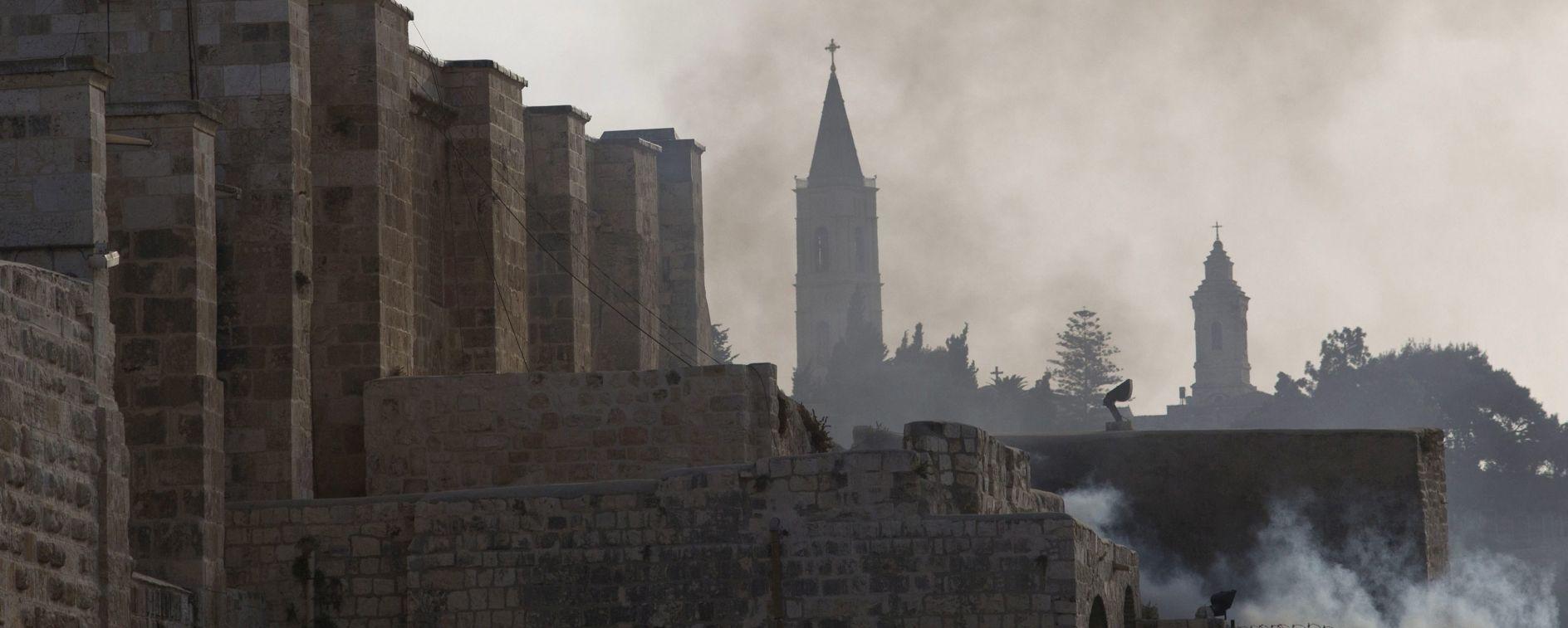 ŽIDOVSKA NOVA GODINA Jeruzalem: Sukob kod džamije al-Aqse