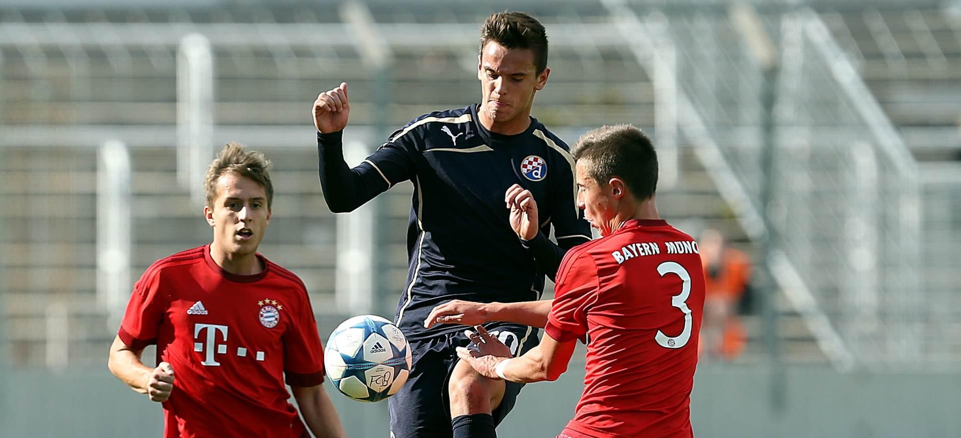 USPJEH JUNIORA Juniorska LP: Bayern – Dinamo 1-2
