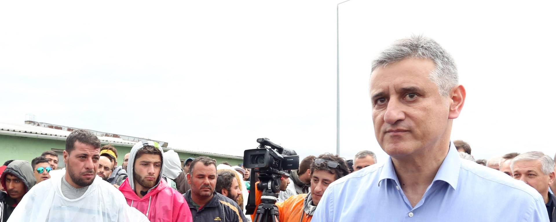 KARAMARKO POSJETIO IZBJEGLICE I ZAKLJUČIO: Vlada otvorila granice Balkanu, a zatvorila EU