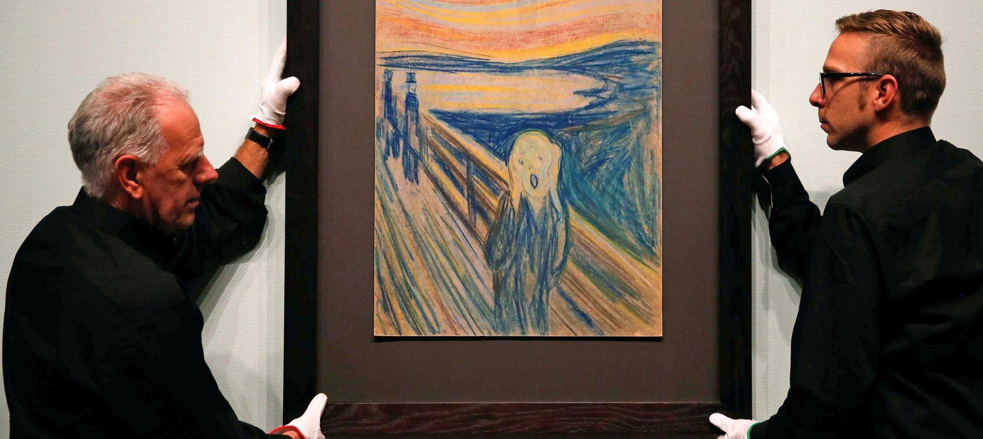 NESPOKOJ I MELANKOLIJA Djela Edvarda Muncha u bečkoj Albertini