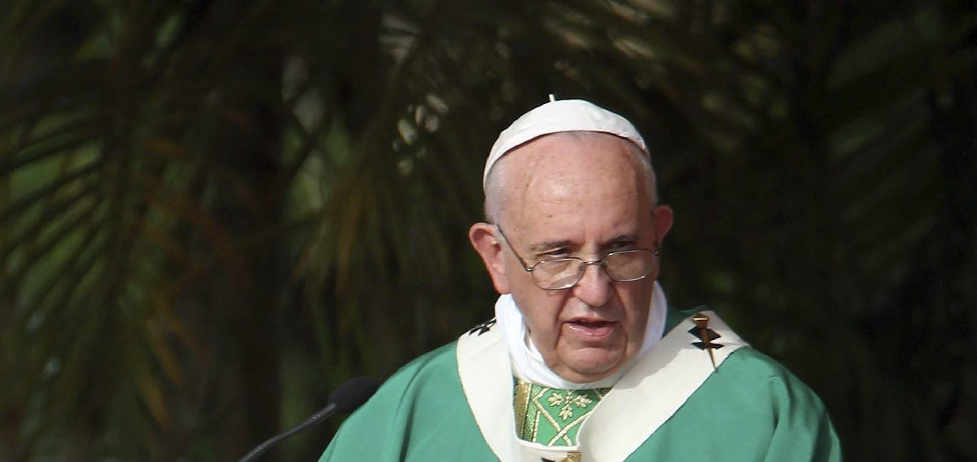 TAJNI SUSRET: Papa nije dao bezuvjetnu podršku američkoj matičarki koja nije vjenčala istospolni par