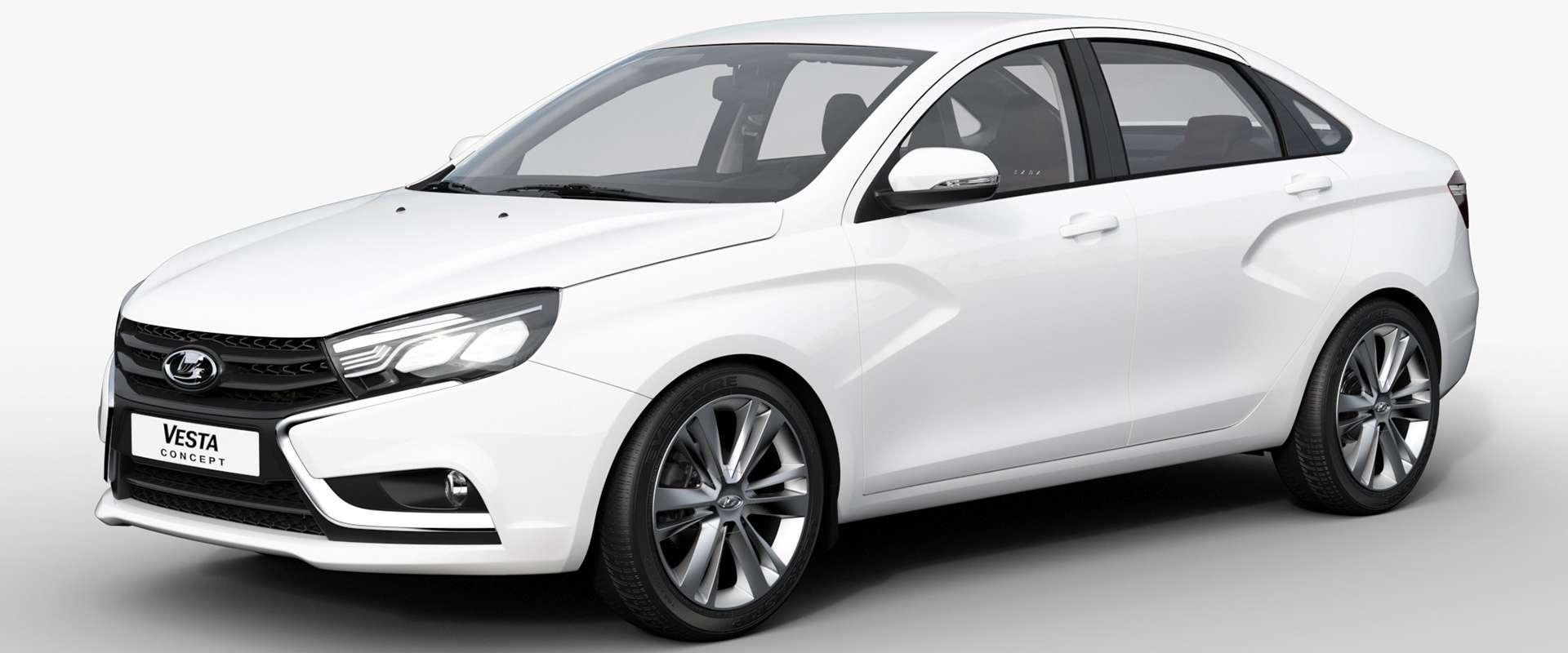 Predvodnik nove generacije Ladinih vozila: Lada Vesta