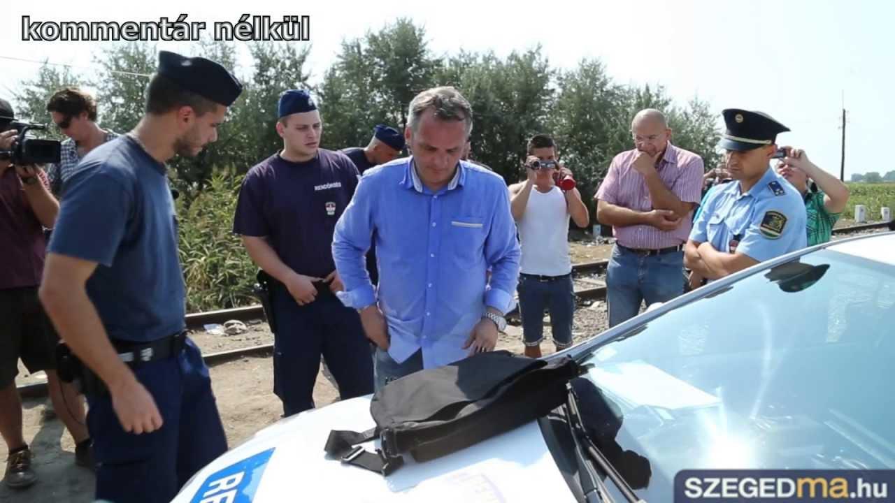 BORBA PROTIV OGRAĐIVANJA: Mađarski političar priveden zbog rezanja botljikave žice
