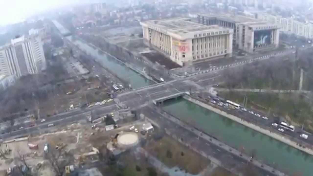 VIDEO: Pogledajmo rumunjsku prijestolnicu Bukurešt iz zraka