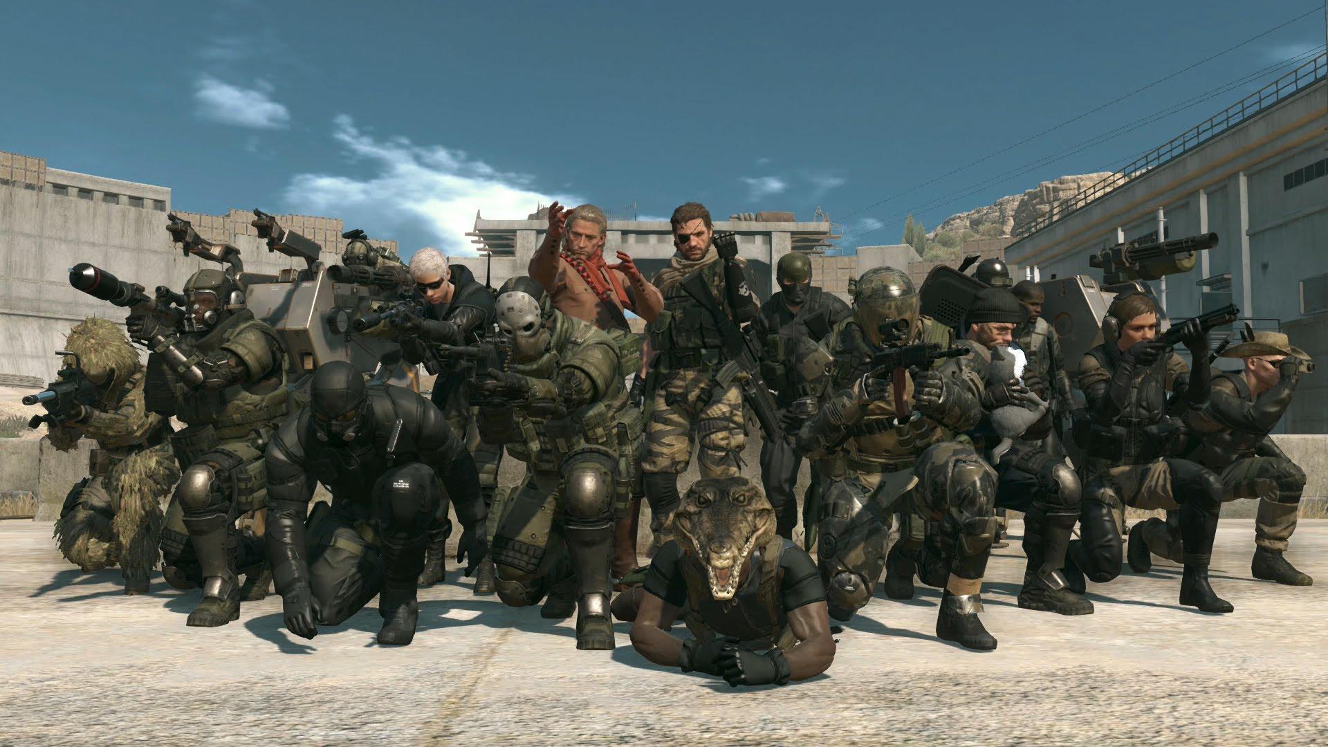 Predstavljen Metal Gear Online