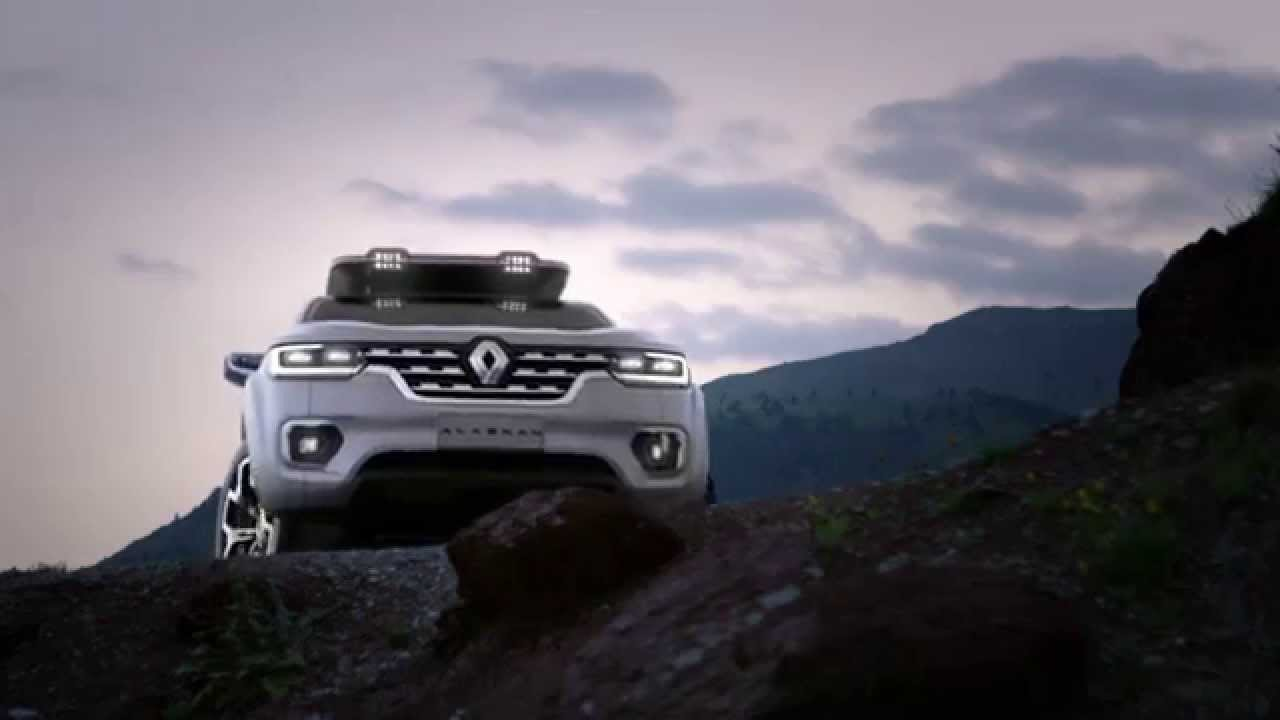 VIDEO: Renault predstavio pick-up za 2016.