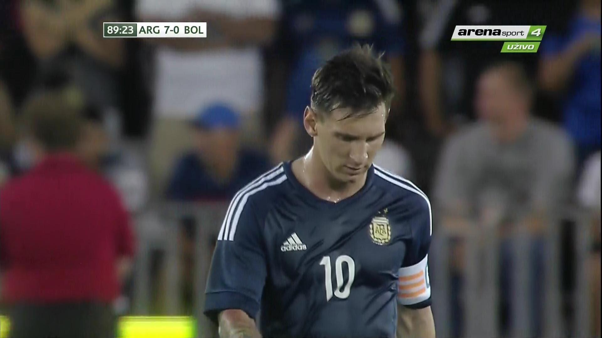 VIDEO: EFIKASNA ARGENTINA Messi, Aguero, Lavezzi i Correa utrpali Boliviji sedam komada