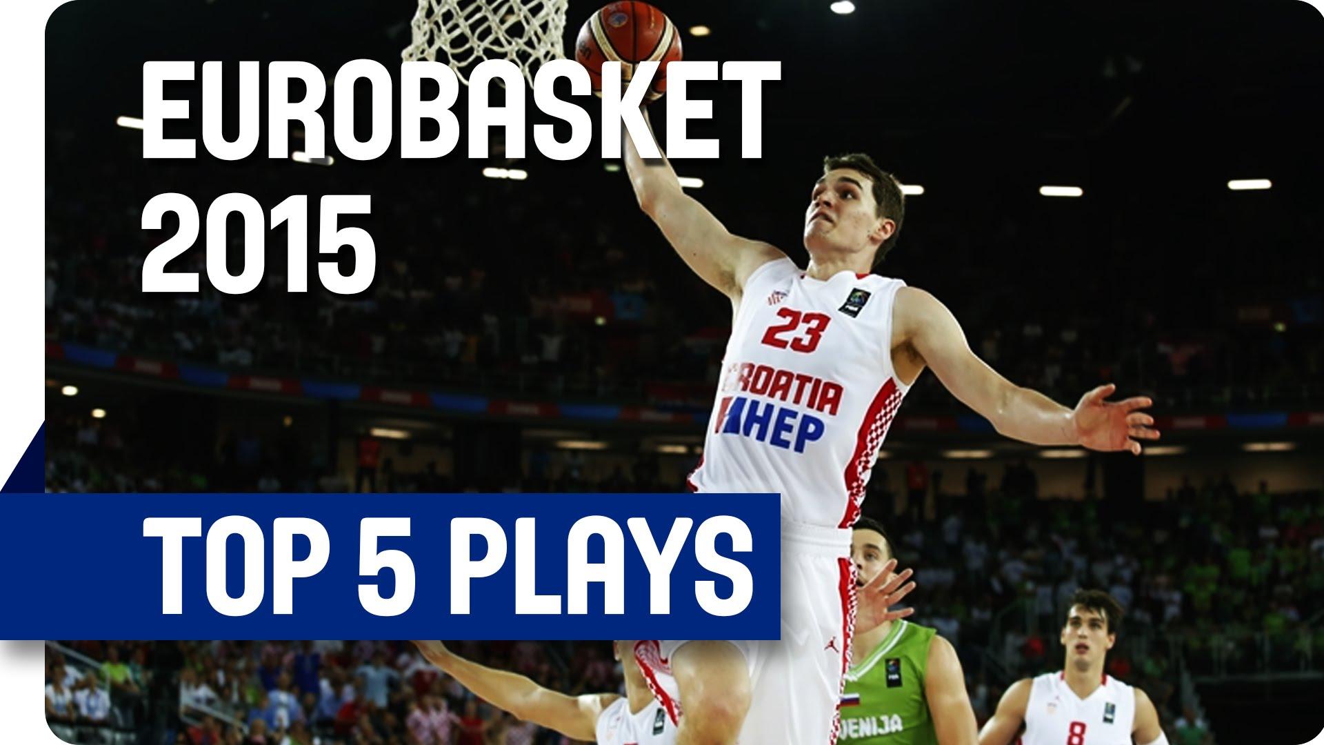 VIDEO: IZABRALA FIBA Ovo je najbolji pet akcija prvog dana Eurobasketa, Hezonja na drugom mjestu