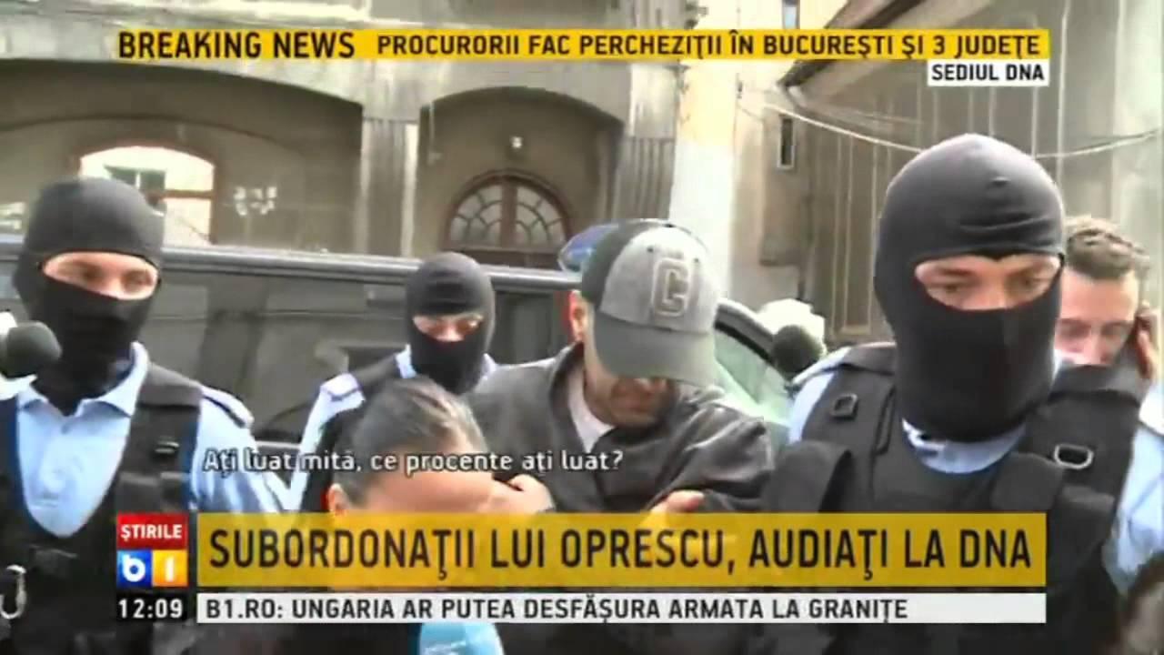 VIDEO: SUMNJA NA PRIMANJE MITA Gradonačelnik Bukurešta Sorin Oprescu u pritvoru