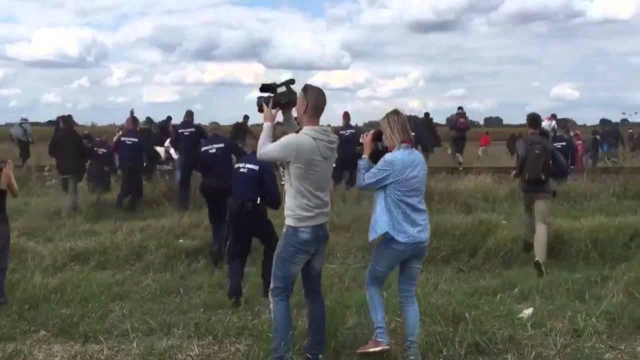 LJUDSKO DNO: Mađarska snimateljica dobila otkaz nakon udaranja izbjeglica