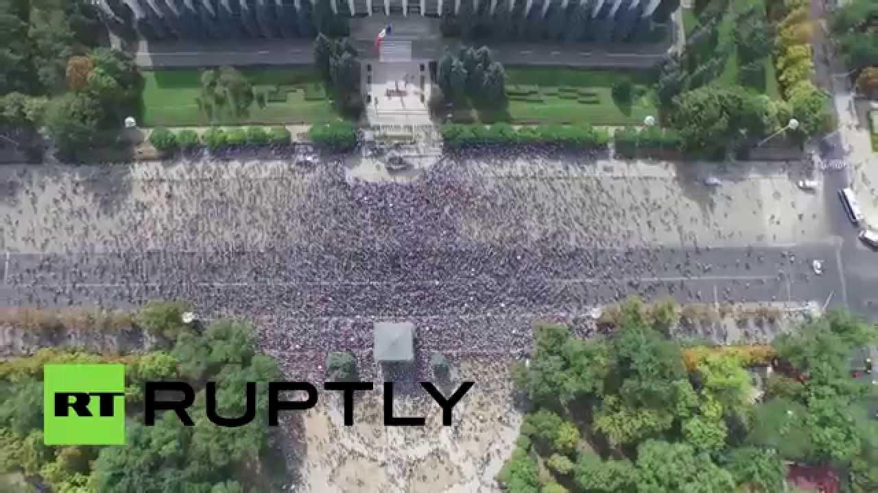 VIDEO: Veliki prosvjed u Moldaviji