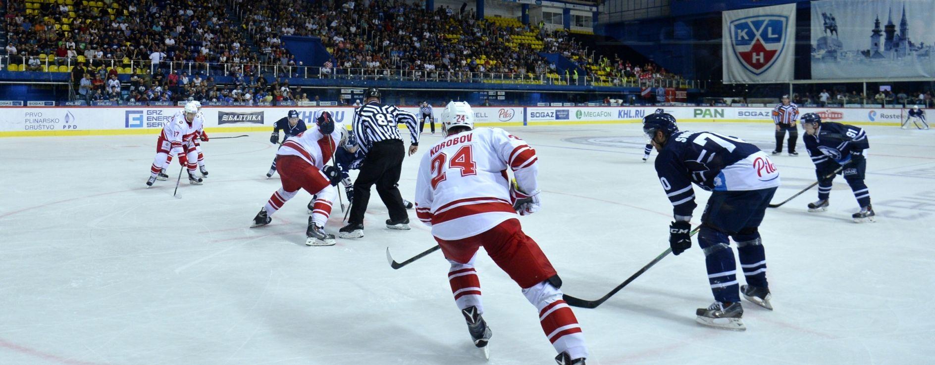 NIKAD TEŽI PORAZ U KHL Spartak deklasirao Medveščak u Ledenoj – 1:7