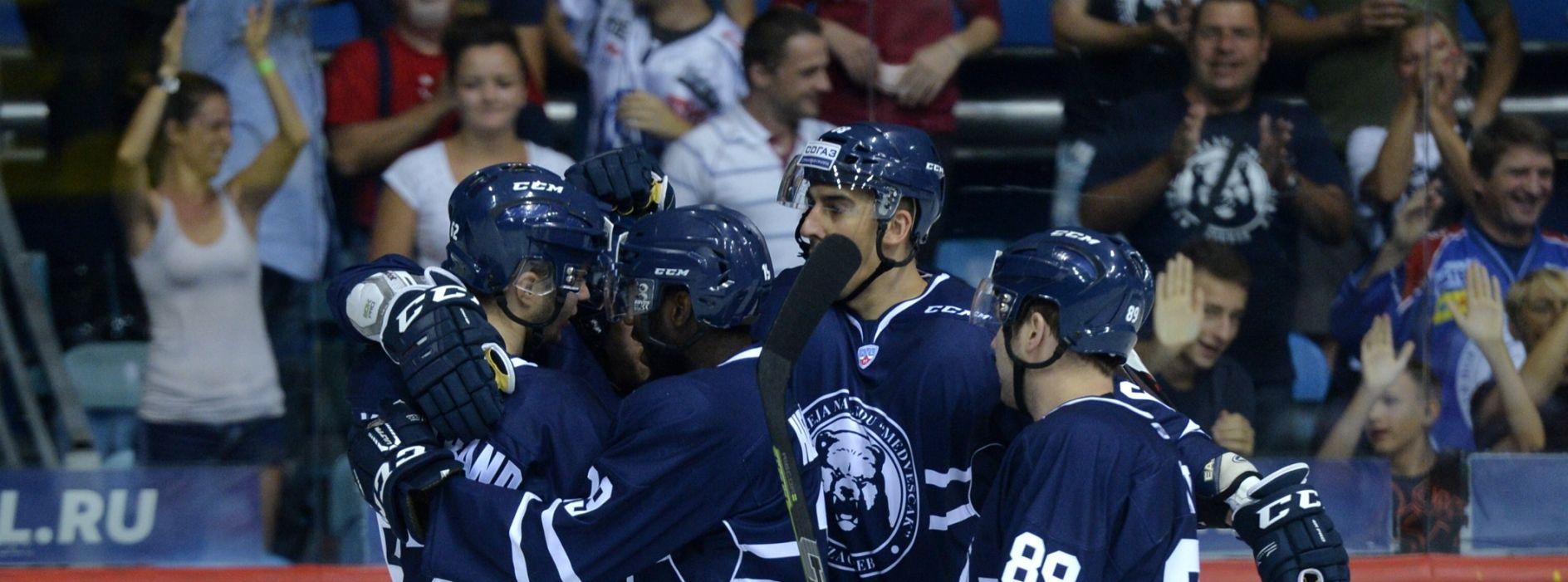 KHL Medveščak u Moskvi primio pet 'komada'