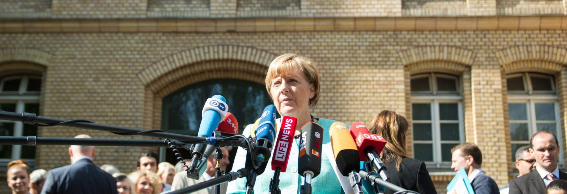 VIDEO: Angela Merkel i Li Keqiang pozvali na političko riješenje sukoba u Siriji