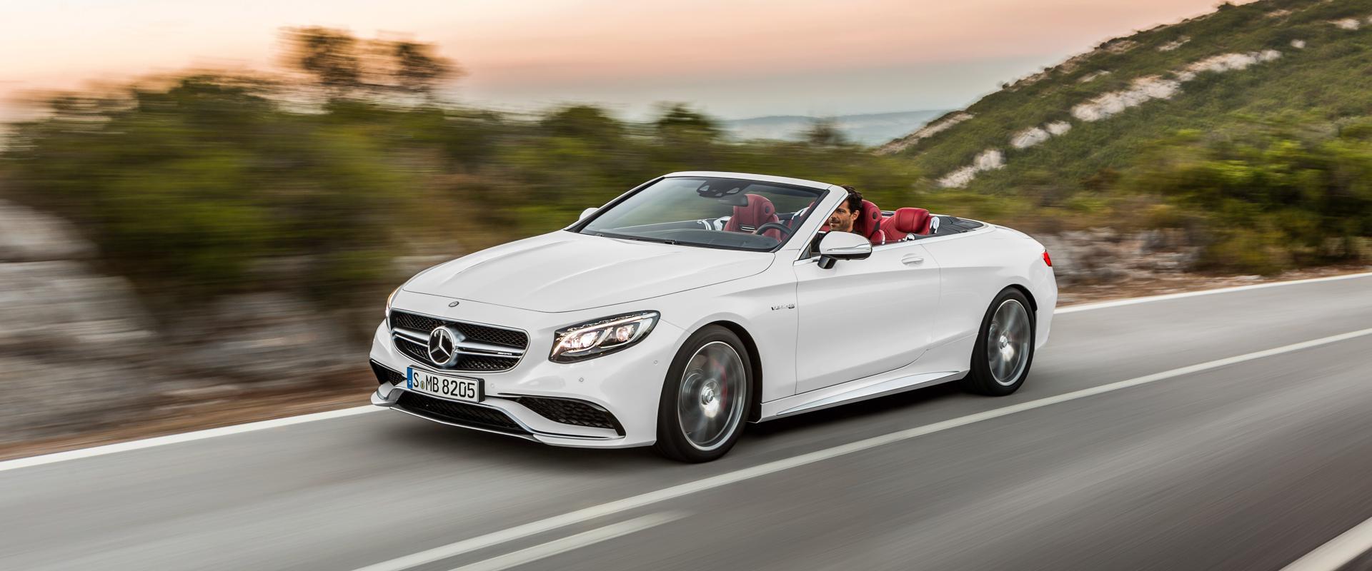 FOTO: Mercedes predstavio S klasu kabriolet