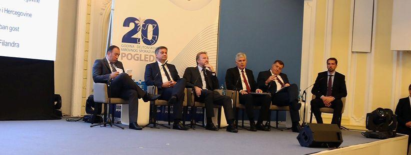 UVIJEK VRUĆA TEMA Rasprava o Daytonu posvađala Dodika i Izetbegovića