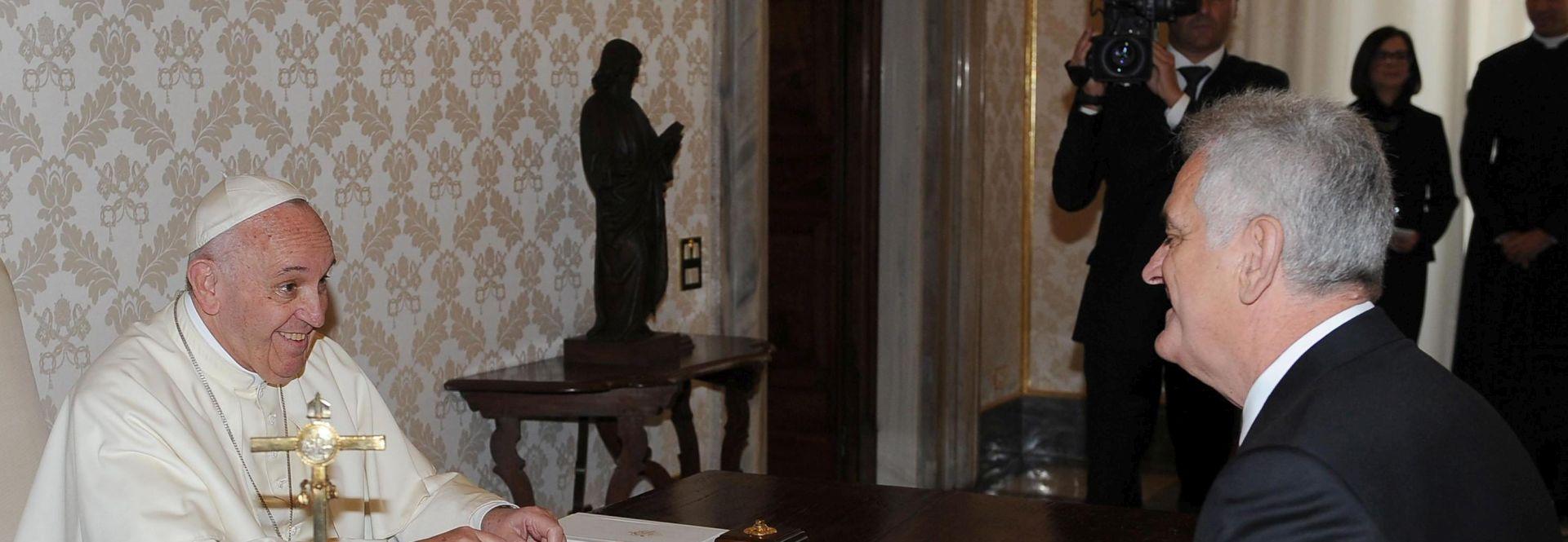 NIKOLIĆ: Papa mi je rekao da Vatikan ne žuri s proglašenjem Stepinca svetim