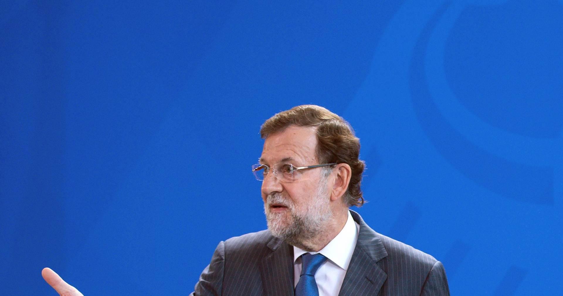 ŠPANJOLSKI PREMIJER: Rajoy: Izbjeglička kriza je najveći izazov za Europu u narednom razdoblju