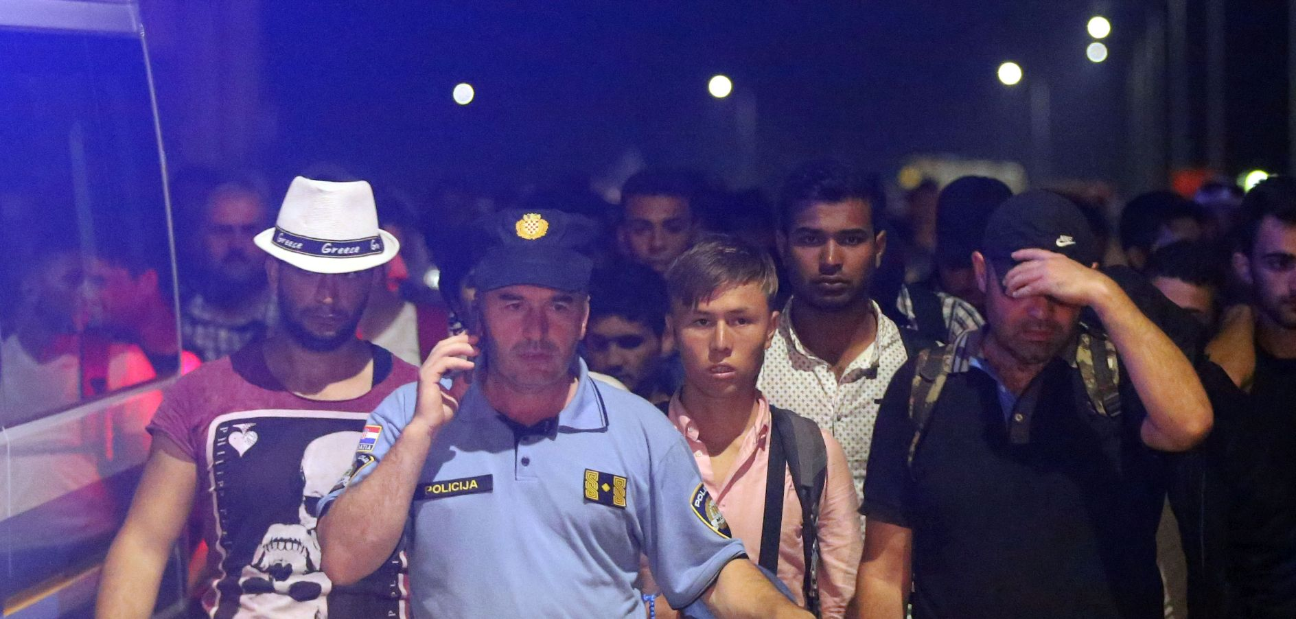 IZBJEGLICE U Hrvatsku ušlo gotovo 1200 migranata, Ostojić zadovoljan situacijom