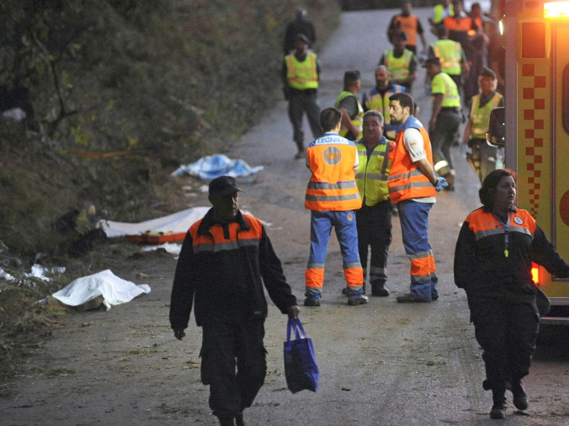POKOSIO IH AUTOMOBIL Reli u La Coruni odnio najmanje 6 života