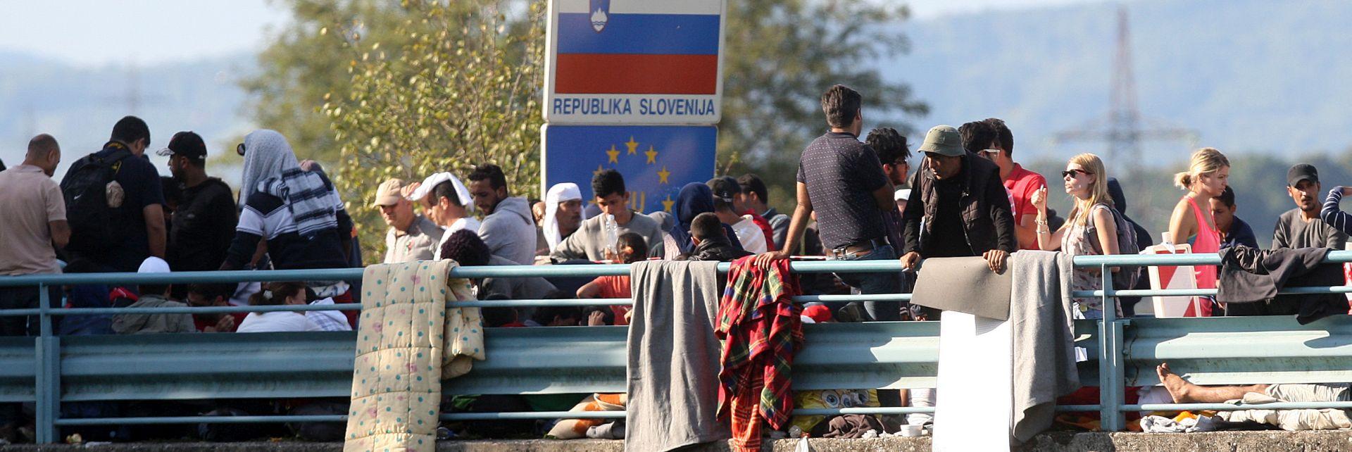 SVE IDE PO DOGOVORU : Iz Hrvatske u Sloveniju do sada ušlo 3000 izbjeglica