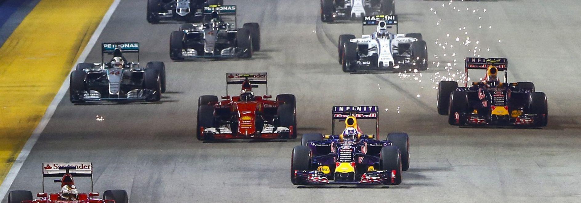 FORMULA 1 Vettelu Singapur, Hamilton odustao