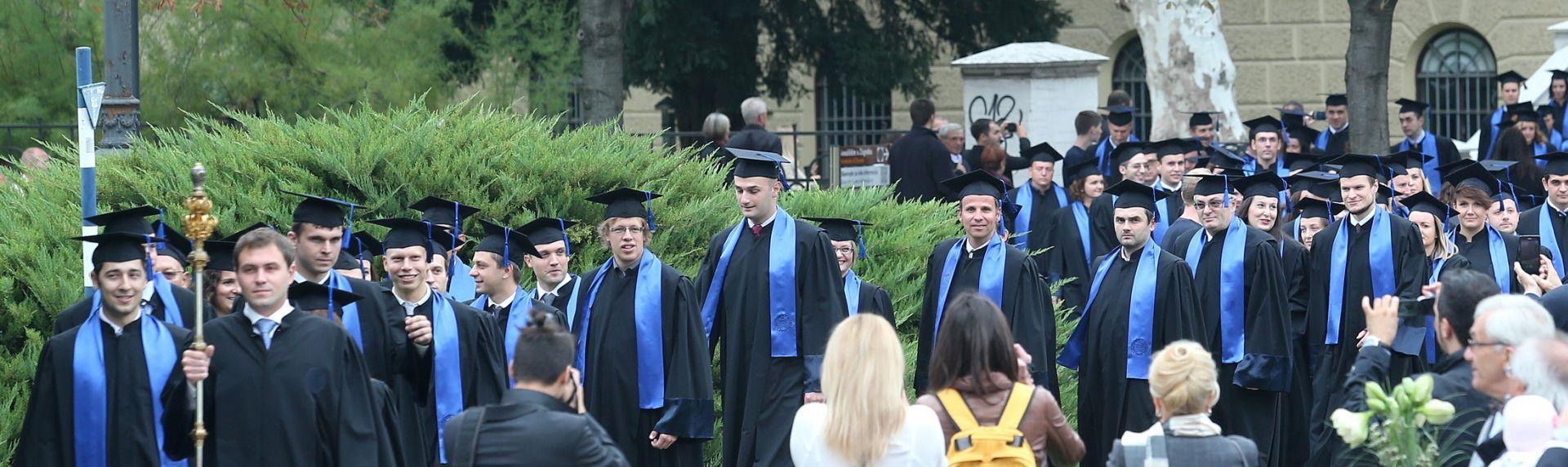 COFLEK UDESNO Sveučilište dobilo nova 292 doktora znanosti i umjetnosti