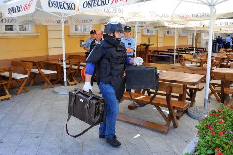 Priveden postavljač eksploziva u torbi u središtu Vinkovaca