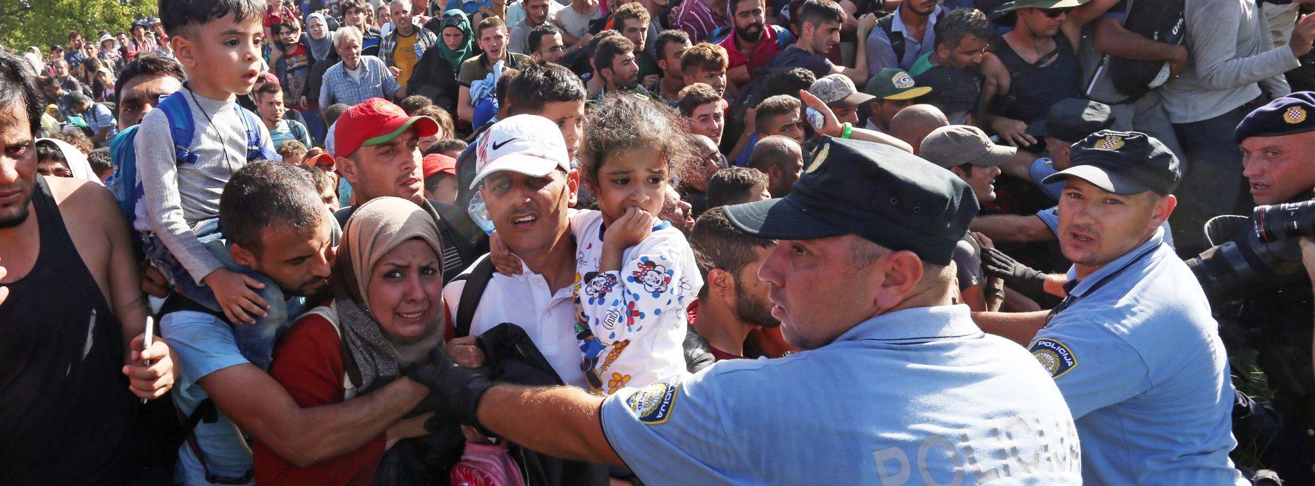 BELI MANASTIR NIJE SLOVENIJA U Hrvatsku do 19 sati ušlo oko 9200 migranata