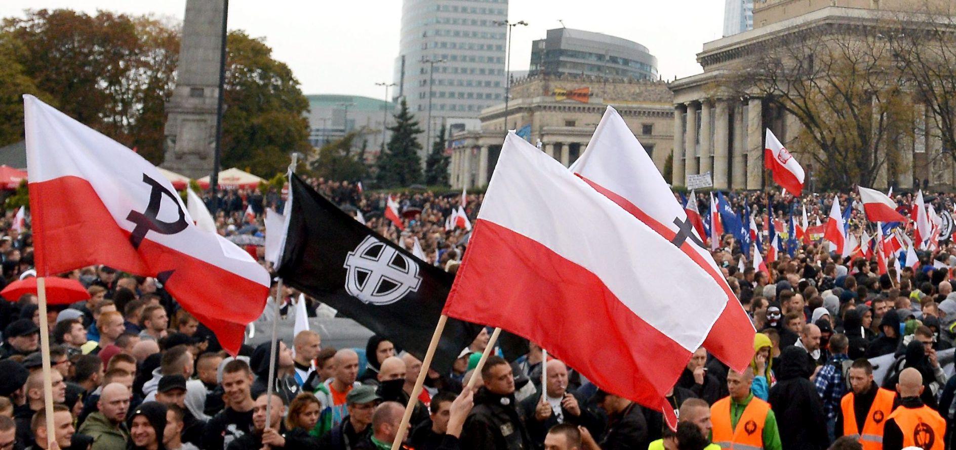 'NISTE DOBRODOŠLI' U Varšavi više tisuća protu-imigracijskih prosvjednika