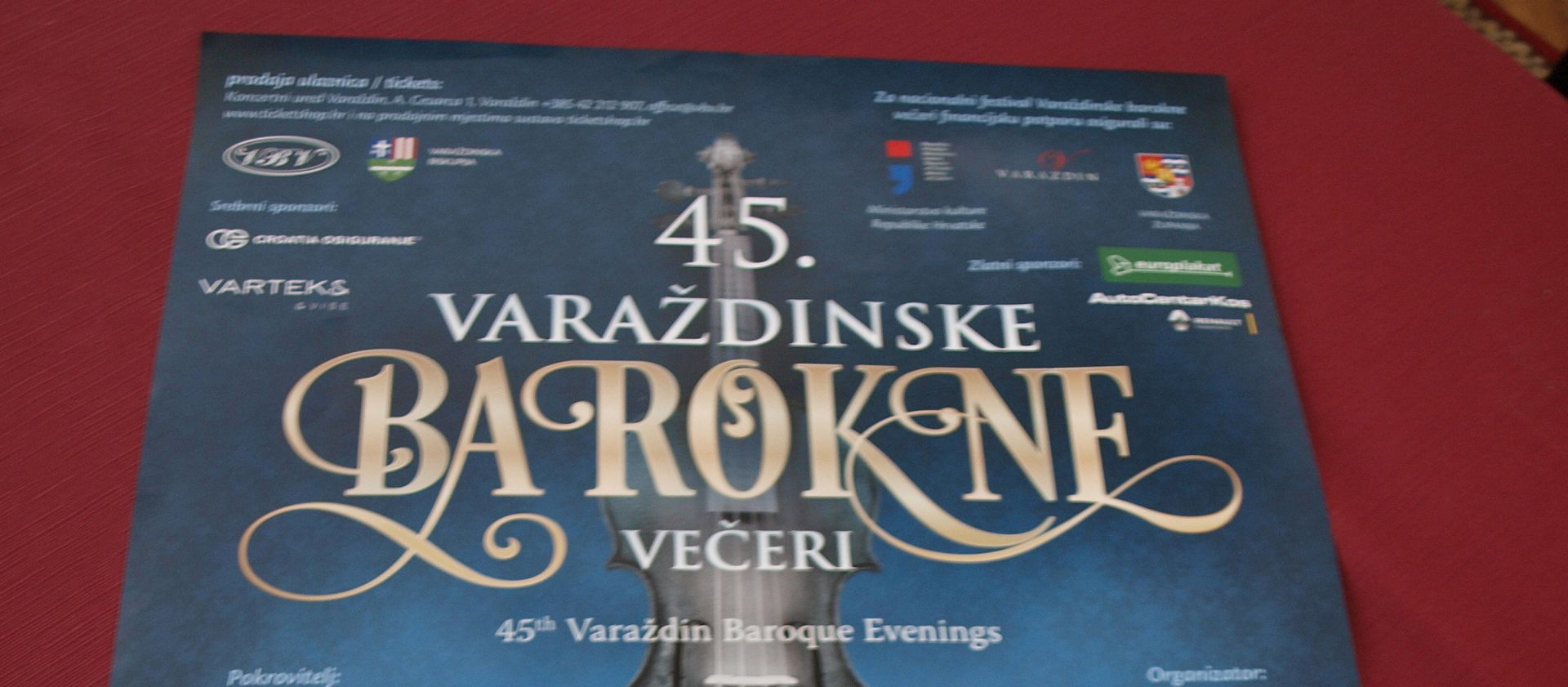 PARTNER FRANCUSKA Otvorene 49. Varaždinske barokne večeri