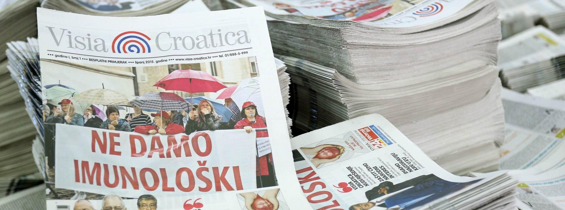 SREDSTVA ZA SPAS IMUNOLOŠKOG ZAVODA: Visia Croatica vraća uloge građanima