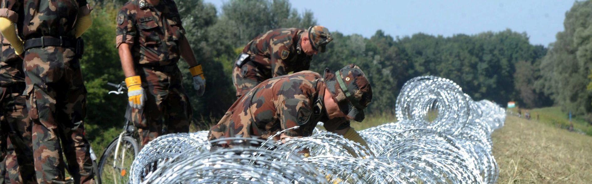 POOŠTRENE MJERE:Mađarska šalje policijska i vojna pojačanja na granice