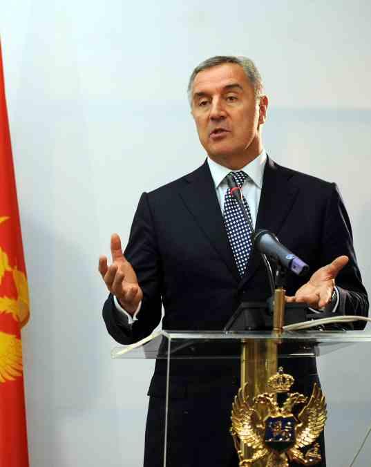 Đukanović podnio ostavku na dužnost zastupnika u crnogorskom parlamentu