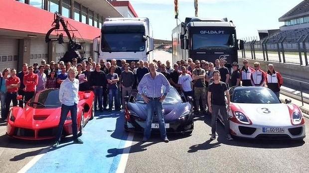 Bivša Top Gear trojka počela snimanje nove emisije
