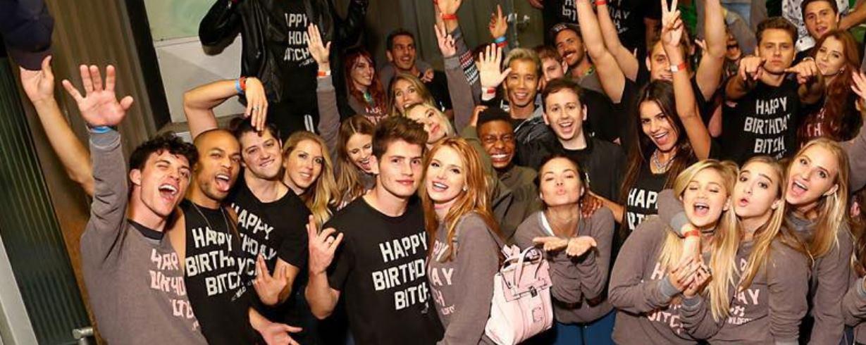 VIDEO: Bella Thorne proslavila osamnaesti rođendan na brodu