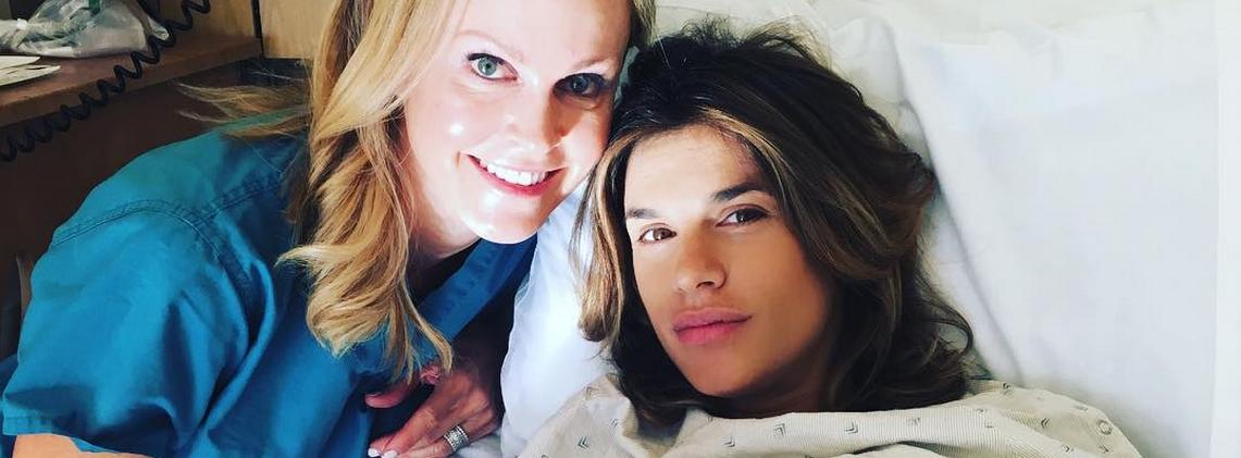 NOVA ULOGA Elisabetta Canalis rodila zdravu djevojčicu
