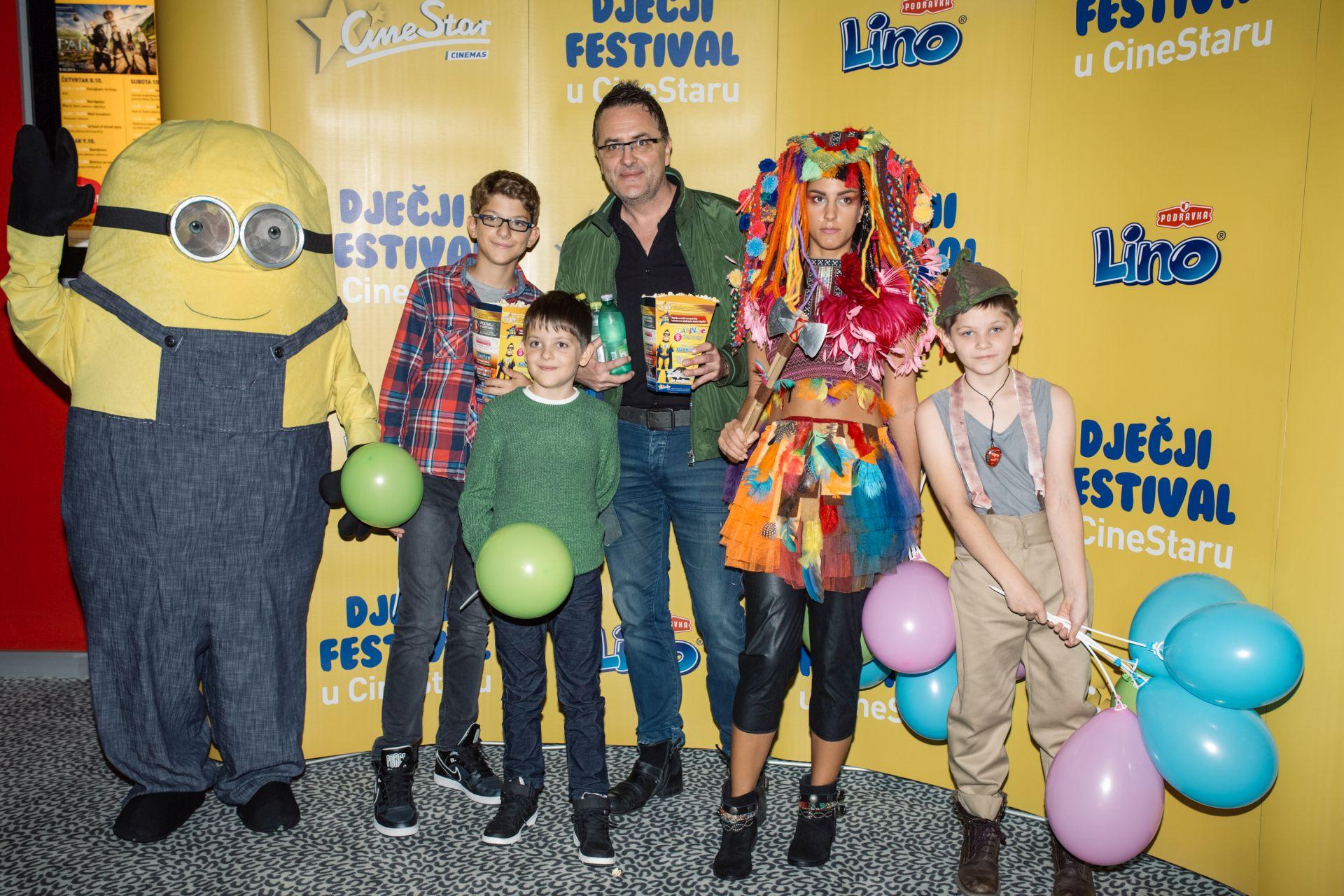 FOTO: Premijera filma o Petru Panu okupila brojne poznate s djecom