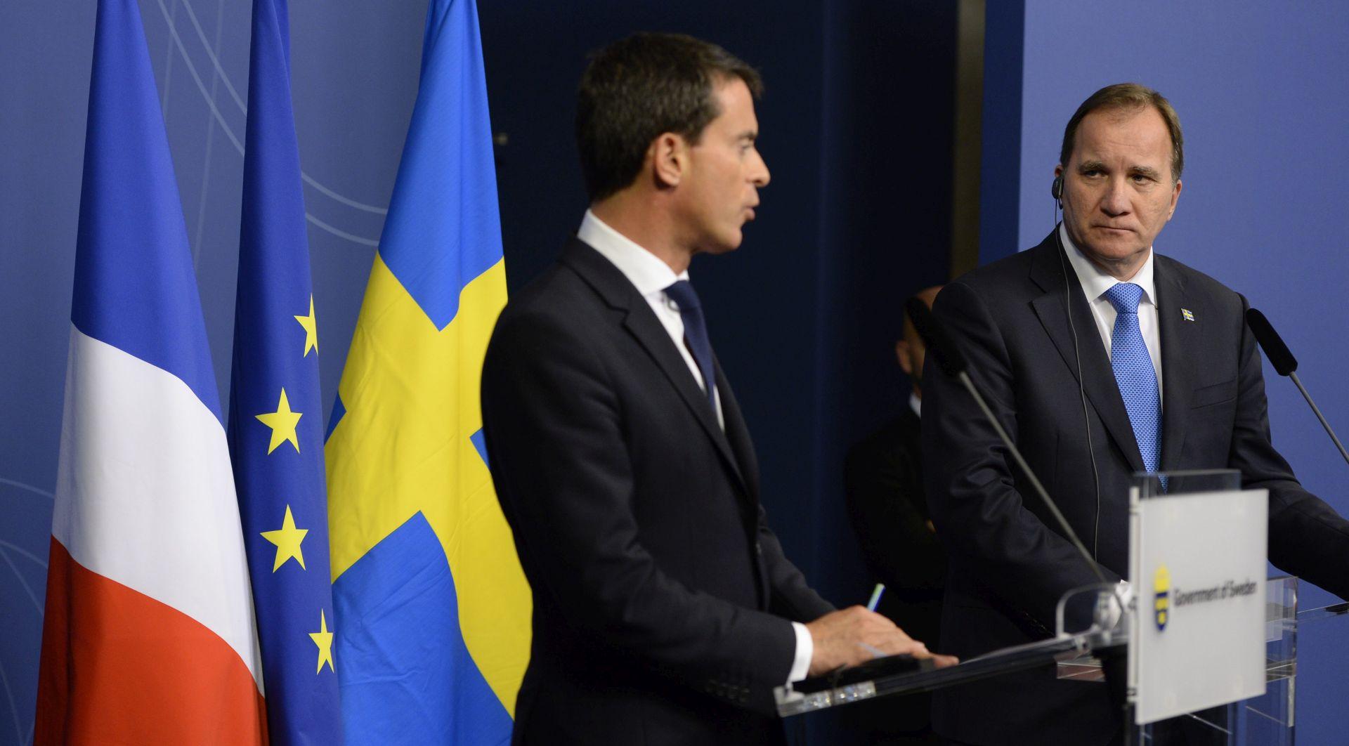 Švedska vlada pred velikim humanitarnim izazovom