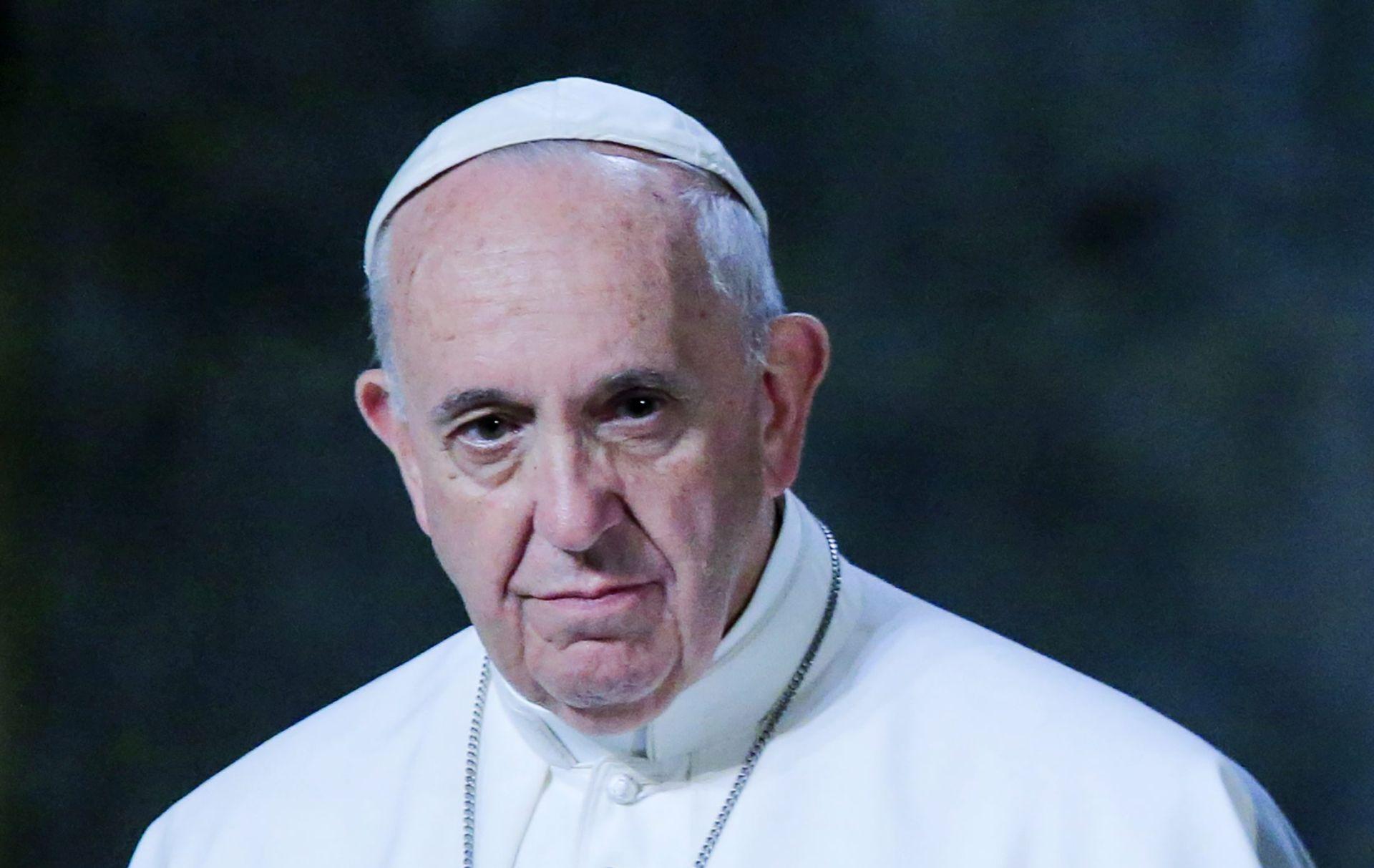 Papa tijekom pohoda u SAD-u primio dugogodišnjeg prijatelja iz Argentine, i njegovog dečka