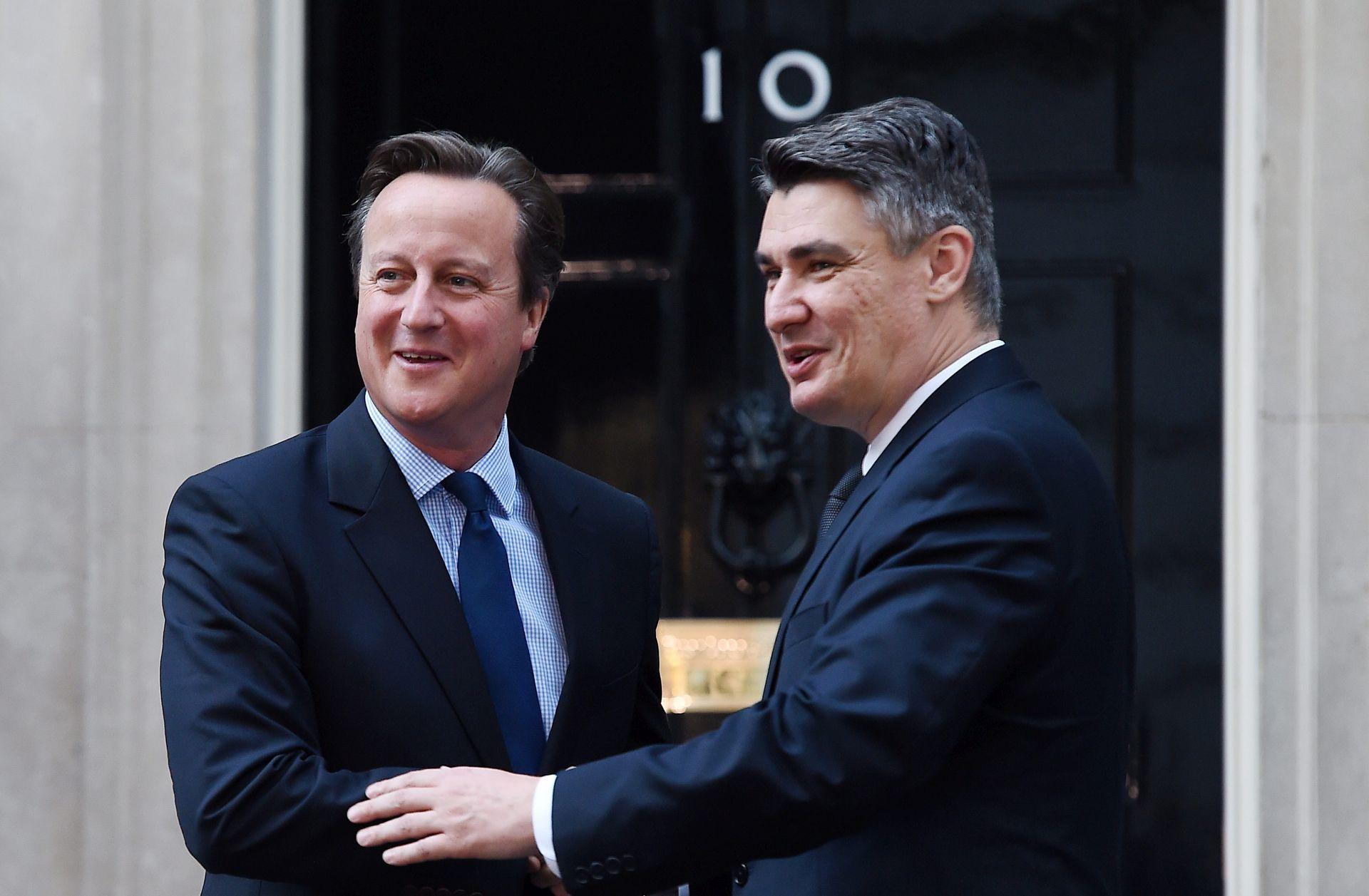 SASTANAK S CAMERONOM Milanović spreman poduprijeti Britaniju oko izmjene Lisabonskog ugovora